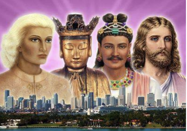 Four Ascended Masters