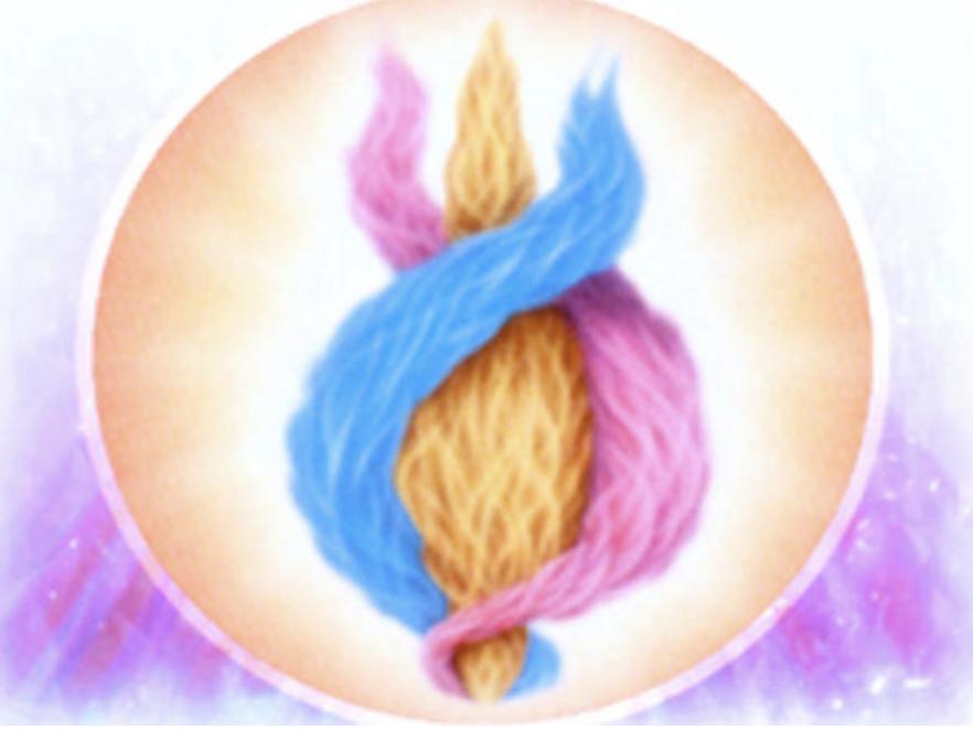 Threefold Flame in Circle